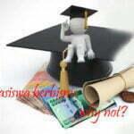 ilustrasi bisnis mahasiswa