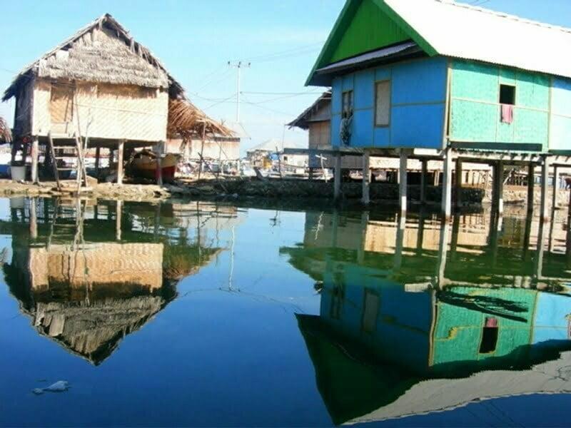 Rumah di Pulau Bungin