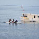 Mudik Gunakan Perahu Motor
