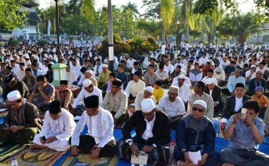 Sholat Idul Adha 2015