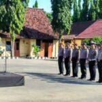 Apel Polres Sumbawa dipimpin Kapolres AKBP Muhammad S.IK