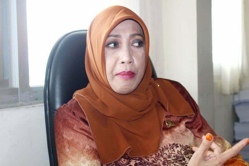 Ida Rahayu, SAp Ketua Komisi IV DPRD Sumbawa
