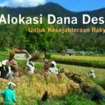 Ilustrasi Alokasi Dana Desa