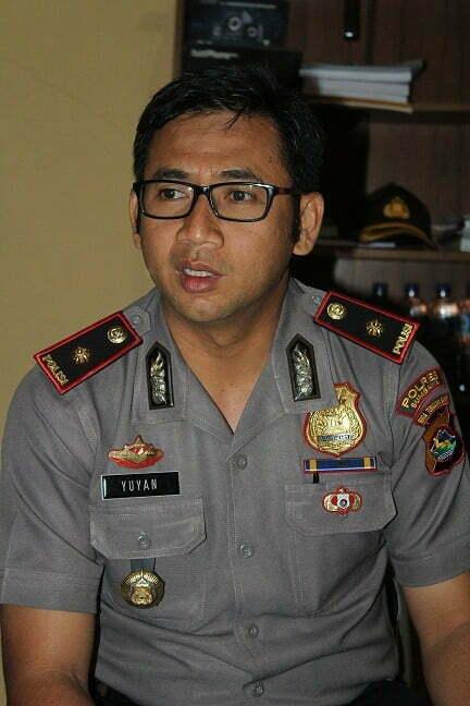 Wakapolres Sumbawa, Komisaris polisi (Kompol) Yuyan Priatmaja SIK