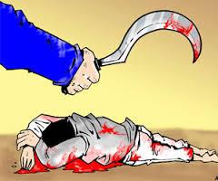 Ilustrasi Pembunuhan Warga Ngali