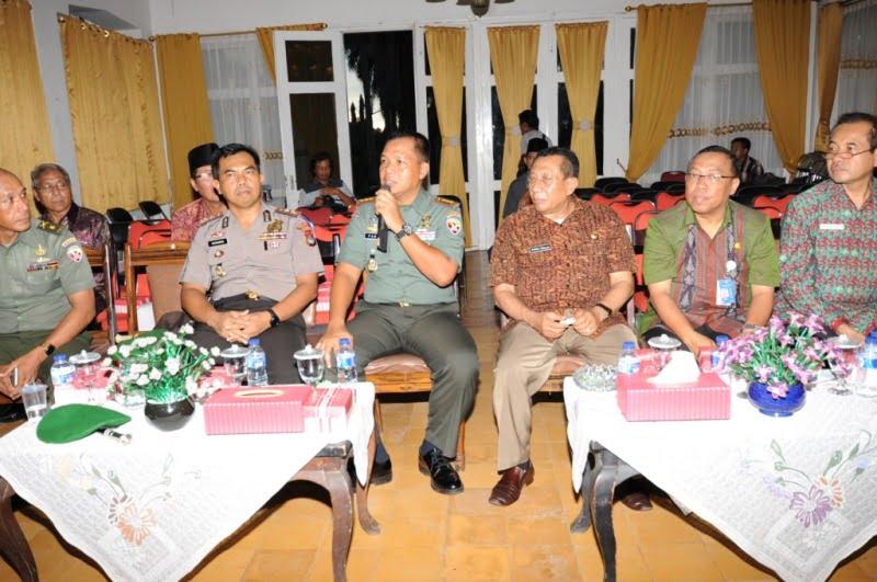 Danrem 162 Wira Bhakti Kungker di Sumbawa