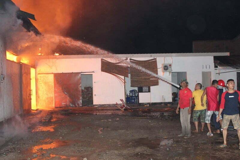 Kebakaran Gudang Panca Sari