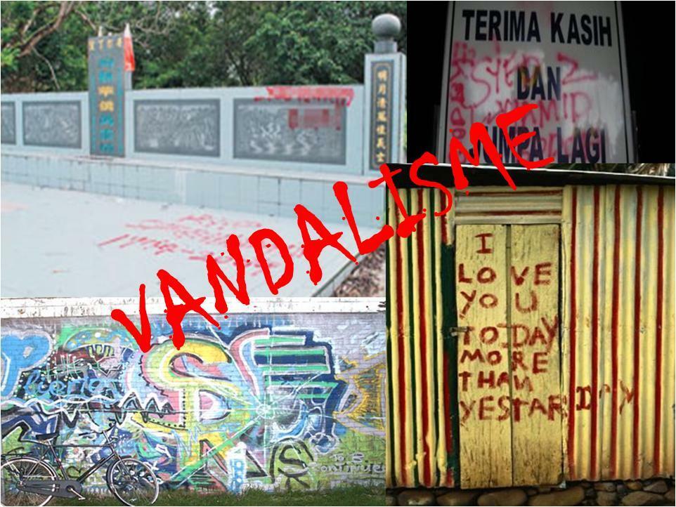 ilustrasi vandalisme yang terjadi di Sumbawa