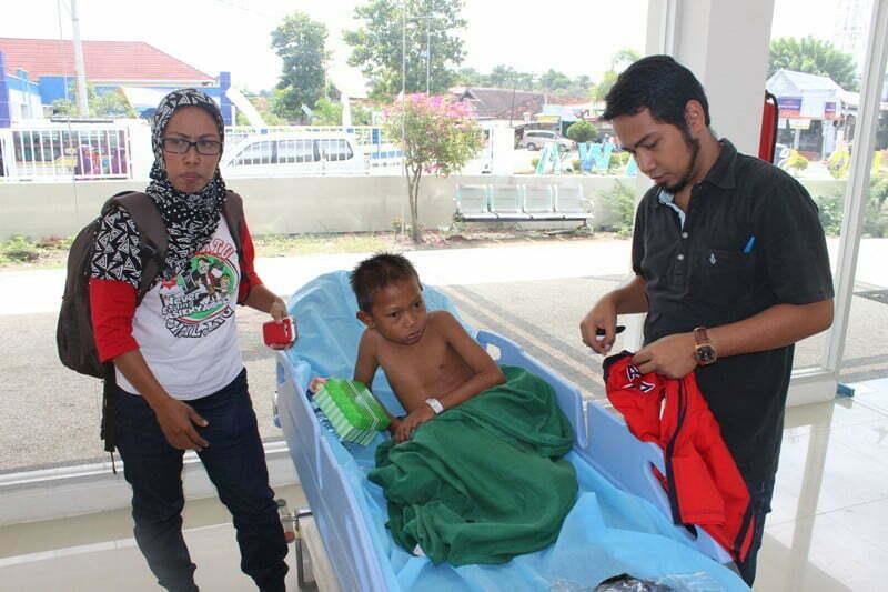 Rian, bocah terlantar di ruang UGD RSUD Sumbawa