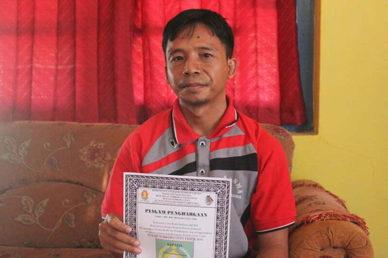 sekertaris komunitas Jatur Sumbawa