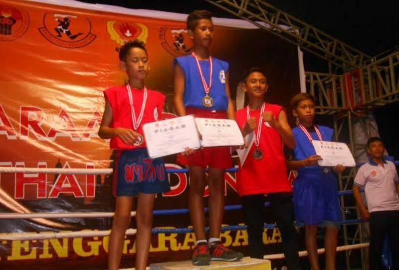 Atlet Muaythai Sumbawa