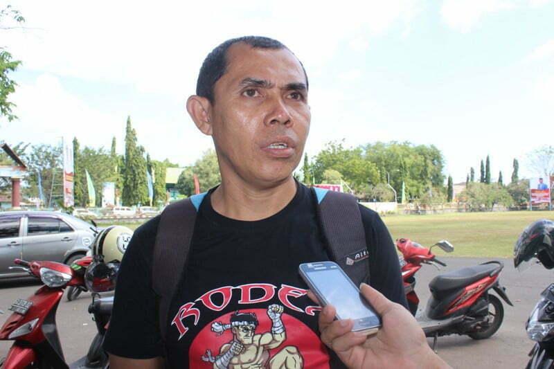 Syamsul Rizal Bidang pemberdayaan prestasi Muathai Indonesia Kabupaten Sumbawa
