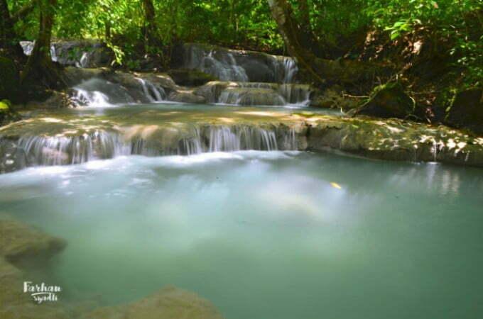 Air Terjun Ai Mual, Desa Bangkat Bangkat Monte