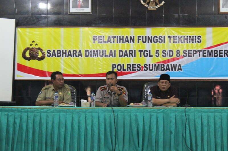 Kapolres Sumbawa, AKBP Muhammmad, S.IK