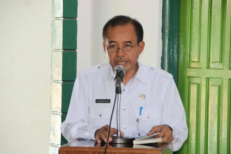 DR H. Muhammad Ikhsan MPd  Asisten I Bidang Pemerintahan,