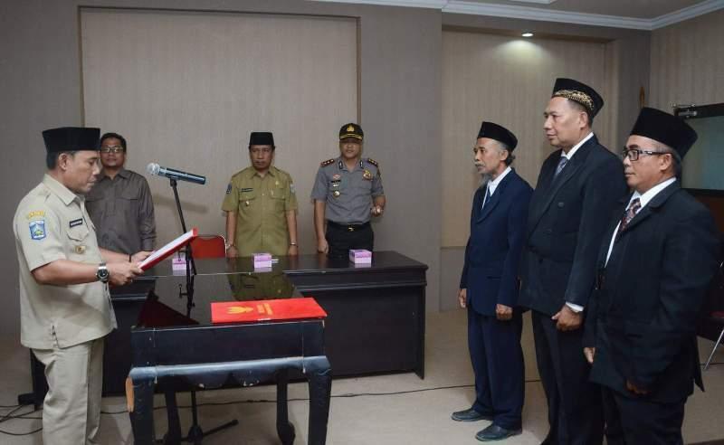 Pelantik Pimpinan Badan Amil Zakat Nasional Kabupaten Sumbawa Barat