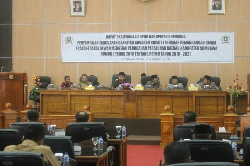RPJMD Kabupaten Sumbawa Tahun 2016-2021