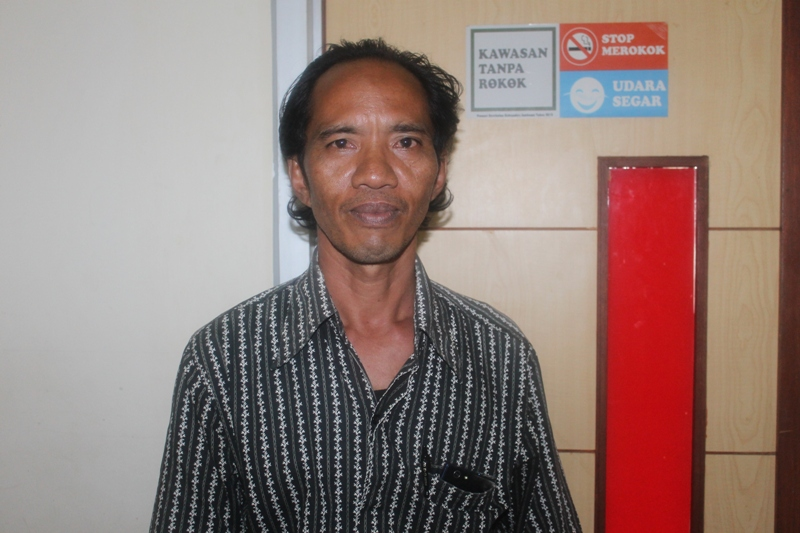 Muhammad Taufan  warga Kecamatan Lantung