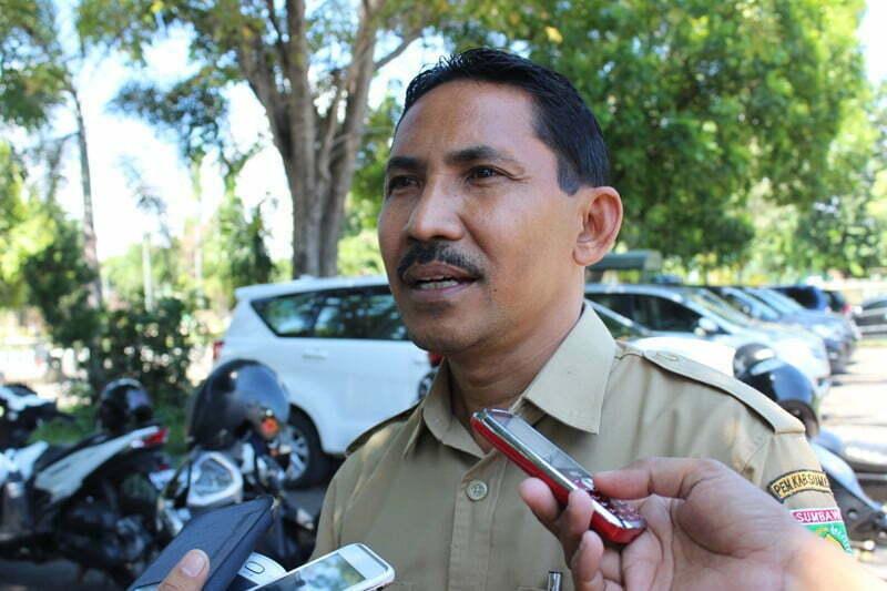 Ir. H Junaidi, MSi Kadis Disporabudpar Kabupaten Sumbawa