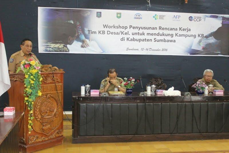 Wakil Bupati Sumbawa  Drs. H. Mahmud Abdullah
