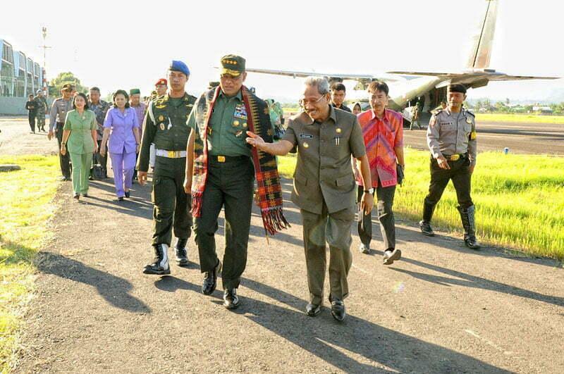 Kunker Pangliam TNI ke Sumbawa