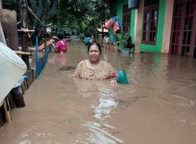 Banjir bandang di kecamatan Empang dan Terano