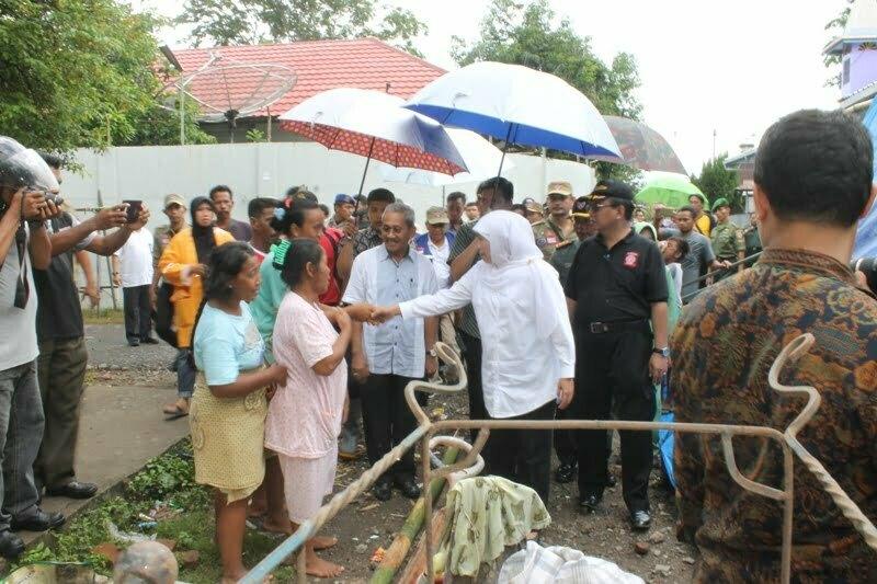 Mensos RI turun kunjungi korban banjir sumbawa ke lokasi