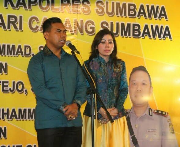 AKBP Muhammad berpamitan kepada masyarakat sumbawa