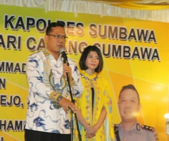 Kapolres Sumbawa, AKBP. Yusuf Sutejo, SIK, MT