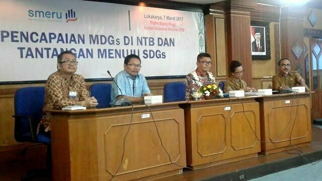Pemprov NTB Gelar MDGs