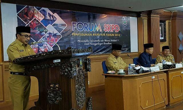 Penyusunan RKPD di Mataram