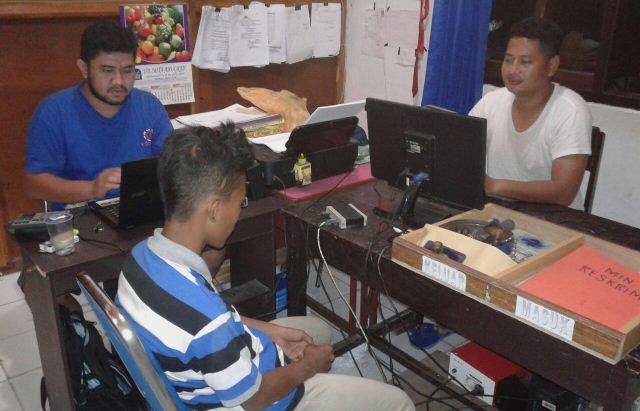 SL (14) Terduga Pelaku Pencabulan Ibu Rumah Tangga