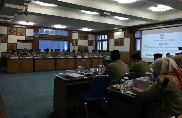 rapat RKPD di Mataram