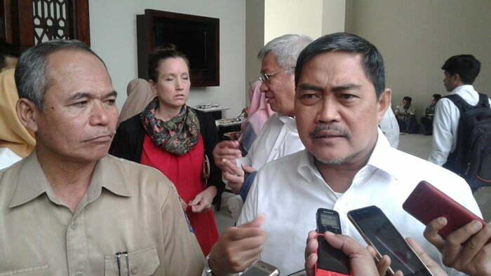 Kepala Badan Pengembangan dan Penelitian Pelatihan dan Informasi Balilatfo Kementerian Desa PDTTDr. Ir .M. Nurdin MT
