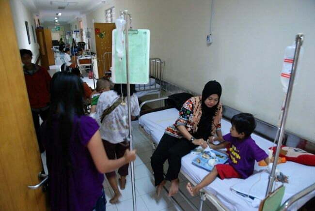 Ilustrasi Ruang Perawatan Anak