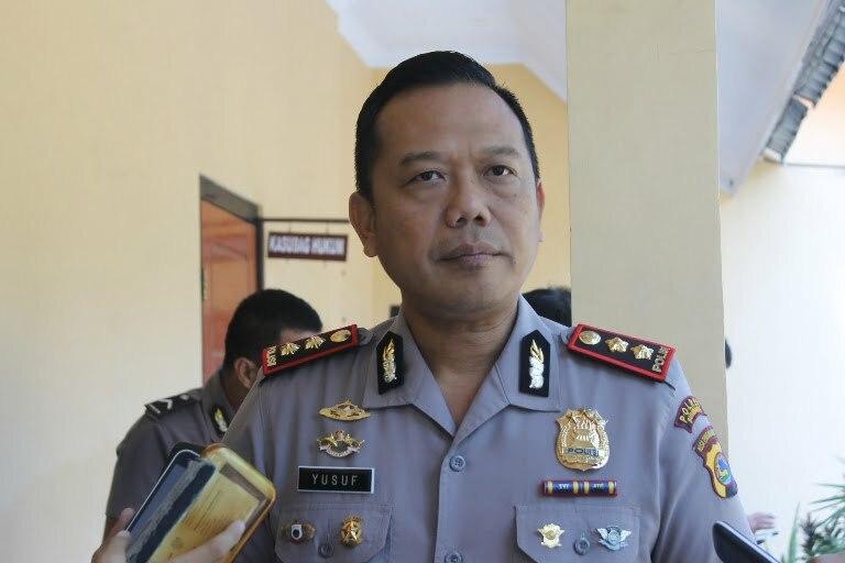 Kapolres Sumbawa, AKBP. Yusuf Sutejo. SIK