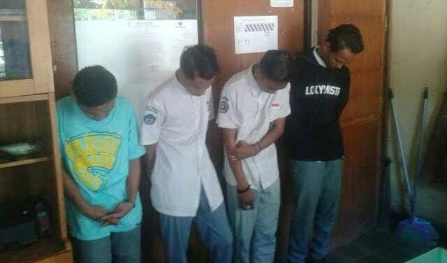 empat pelajar bolos bawa tramadol