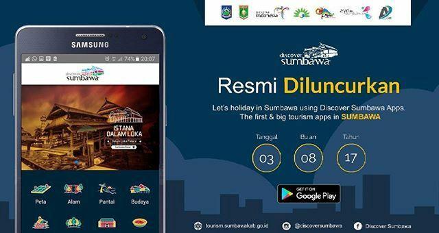 aplikasi Discover Sumbawa