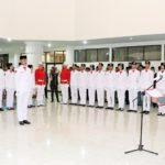 pengukuhan paskibraka KSB tahun 2017 1 Kabar Sumbawa