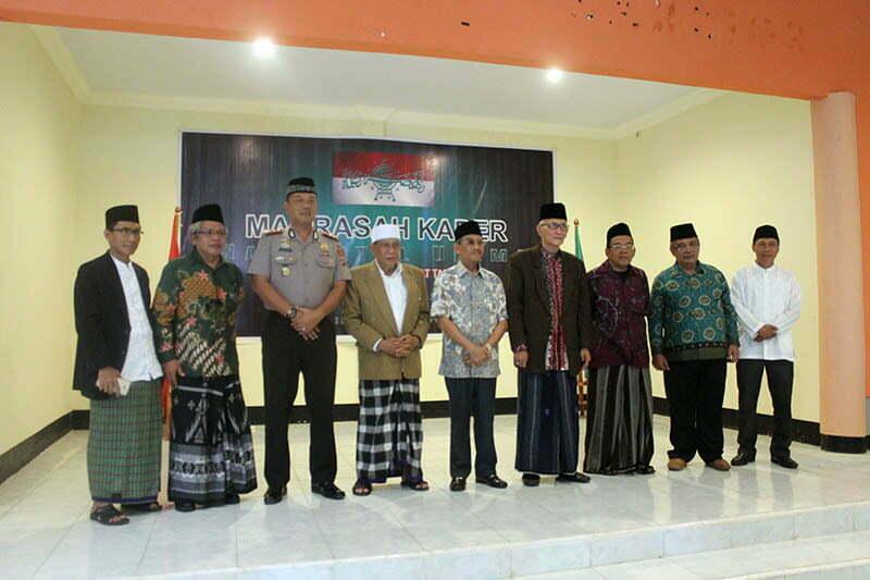 Madrasah Kader Nahdlatul Ulama (MKNU), Jumat (17/11)