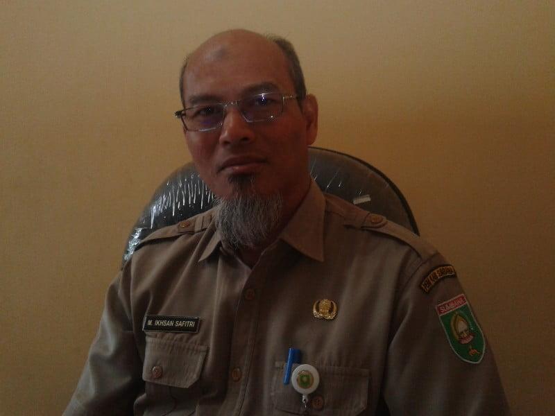 Dr. Iksan Safitri saat ditemui Kabar Sumbawa