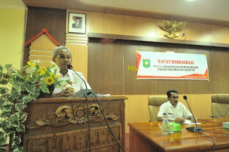 Bupati Sumbawa, H. M. Husni Djibril, B.Sc.,