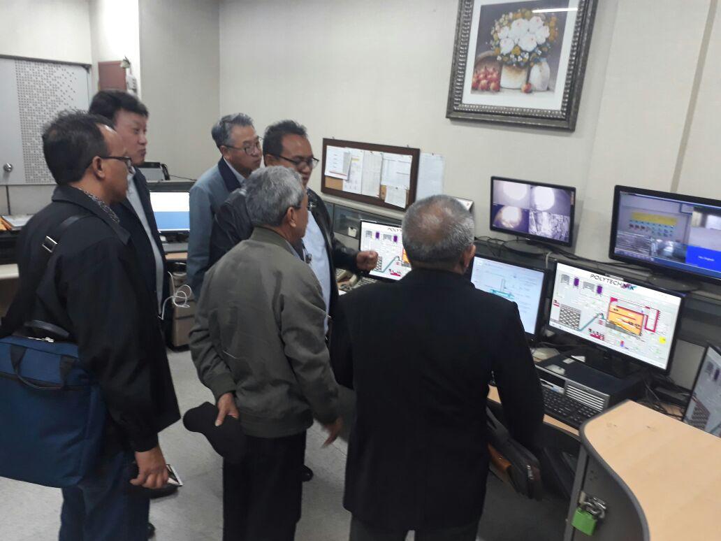 Kunjungan Biomass Power Plant Gimco Co., Ltd dan Kepco E&C