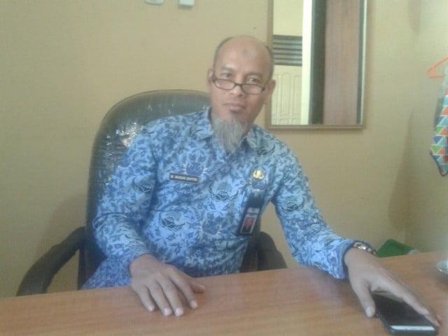 Dr. Ikhsan Safitri, Kepala Dinas Pemberdayaan Masyarakat dan Desa (DPMD) Kabupaten Sumbawa