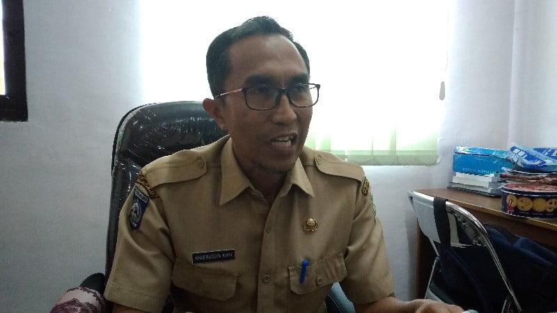 Kepala Bidang Aset BPKAD Sumbawa, Khaeruddin Khay
