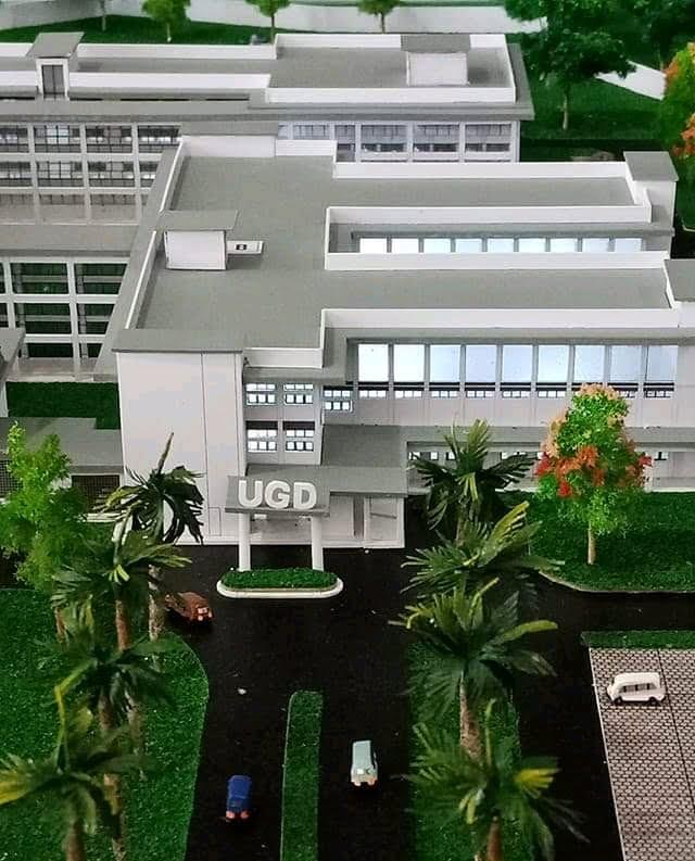 MASTER PLAN : RSUD Sumbawa yang akan dibangun di Kawasan Balai Benih Utama Sering