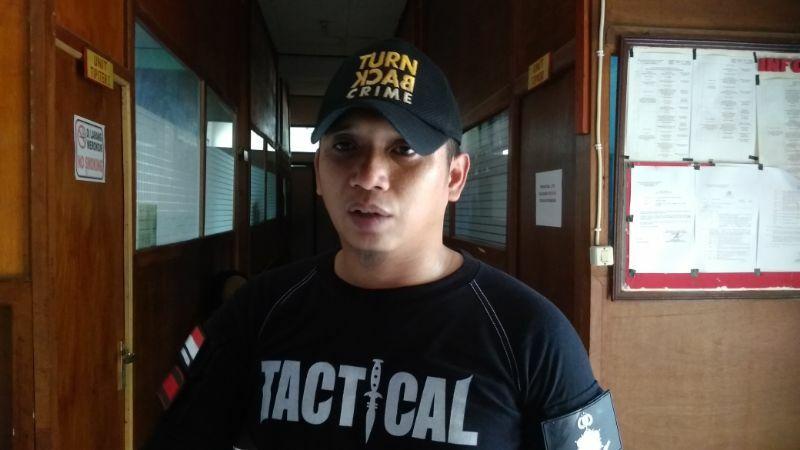 Kasat Reskrim Polres Sumbawa, AKP Zaky Maghfur SIK,