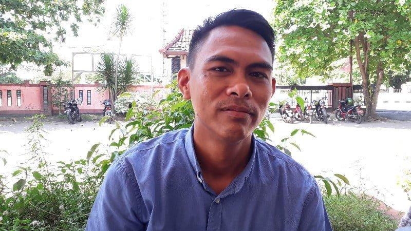 Ketua Devisi Perencanaan Data dan Informasi, Muhammad Kaniti