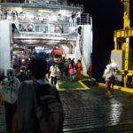 Pelabuhan poto tano jelang lebaran 2019