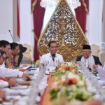 Jokowi pimpin rapat kabinet
